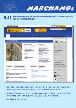 numero41 ( 7330.36 Kb) - Oficina Española de Patentes y Marcas