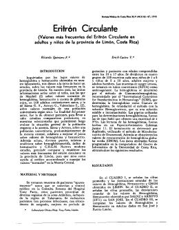 10.-Eritrón Circulante