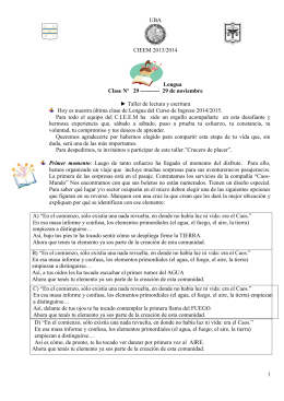 Lengua - Guía 7 - 26 de mayo de 2012