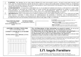STEP #1 - Li`l Angels Furniture