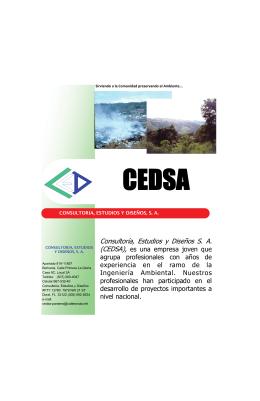 Consultoría, Estudios y Diseños S. A.
