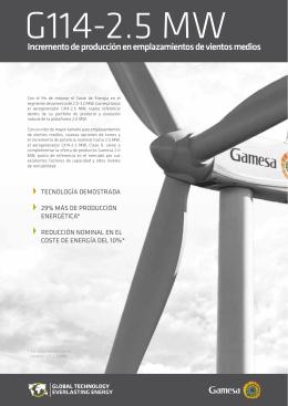 Folleto G114-2.5 MW