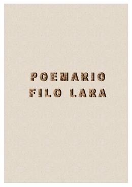 POEMARIO FILO LARA