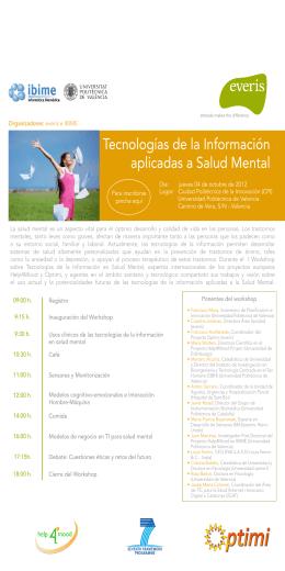 Tecnologías de la Información aplicadas a Salud Mental