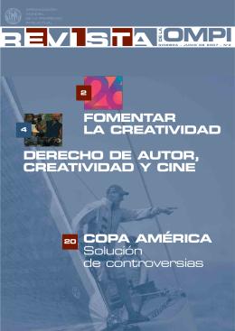 FOMENTAR LA CREATIVIDAD COPA AMÉRICA Solución