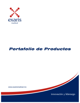 Folleto Exaris Medical Ver 1-2