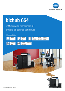 bizhub 654 - Interempresas