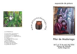 exterior - Pilar de Madariaga