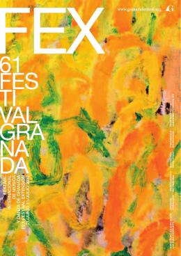 Folleto FEX 2012 - Festival Internacional de Música y Danza de