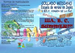 ¡¡¡A, B, C, SUMMER!!!