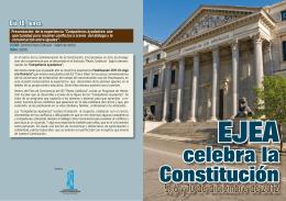 celebra la Constitución - Ayuntamiento de Ejea de los Caballeros