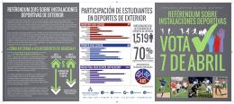 reférendum sobre instalaciones deportivas