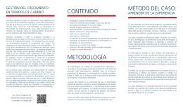 CONTENIDO METODOLOGÍA - Universidad de Montevideo