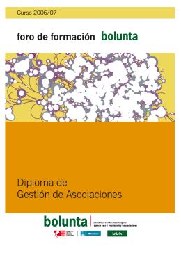 Diploma de Gestión de Asociaciones