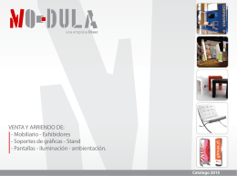 Mobiliario - Exhibidores - Modula Arriendo Mobiliario. Arriendo