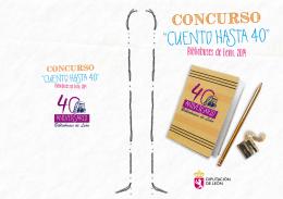 """""""CUENTO HASTA 40"""" - Instituto Leonés de Cultura"""