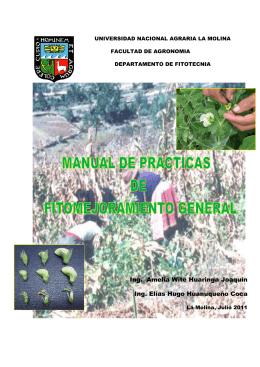 Anexos - Universidad Nacional Agraria La Molina
