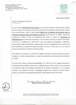 sandra elvia parra novoa - ITSON - Instituto Tecnológico de Sonora
