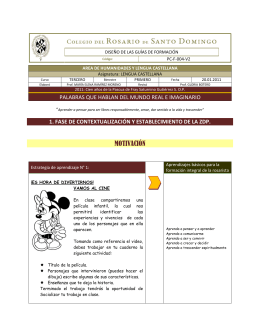 MOTIVACIÓN - Colegio del Rosario de Santo Domingo