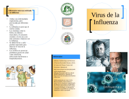 Virus de la Influenza - Recinto Universitario de Mayagüez