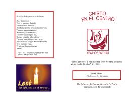 Un Esfuerzo de Formación en la Fe Por la arquidiócesis de
