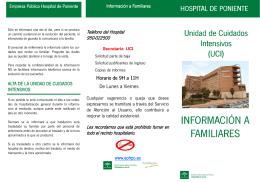 Información a familiares UCI