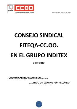 consejo sindical fiteqa-cc.oo. en el grupo inditex