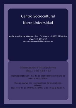 Centro Sociocultural Norte