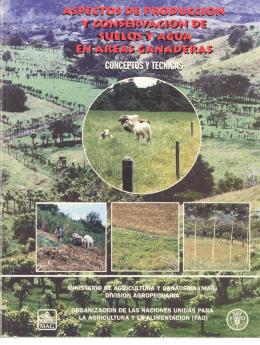 Conceptos y técnicas. - Ministerio de Agricultura y Ganadería