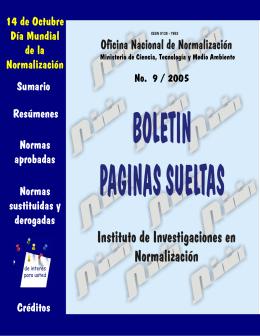9 - BOLETIN PAGINAS SUELTAS. Página de inicio