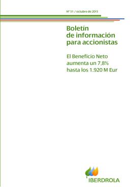 Boletín del accionista