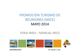 140515 Folleto MICE Feria IMEX