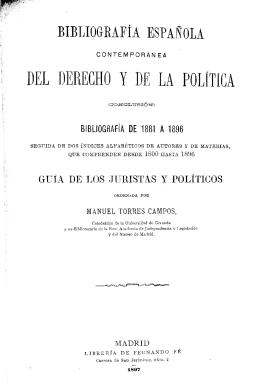 bibliografía de 1881 a 1896