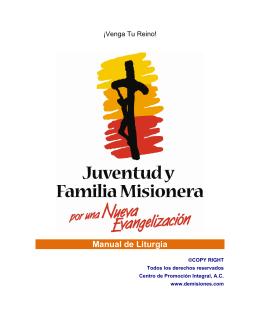 Manual de Liturgia - Seminario Mayor de Bogotá