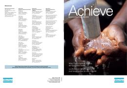 Atlas Copco celebra 25 años de Agua para Todos La eficiencia