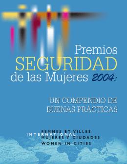 Premios Seguridad de las Mujeres 2004