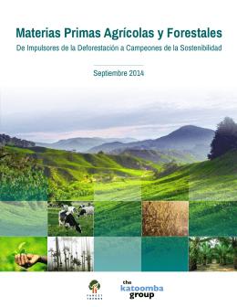 Materias Primas Agrícolas y Forestales