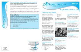April 2013 - Family Health Network