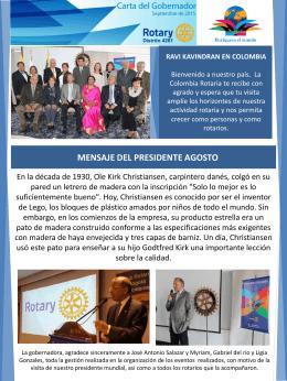 RAVI KAVINDRAN EN COLOMBIA Nuestro máximo
