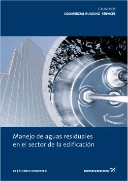 Manejo de aguas residuales en el sector de la edificación