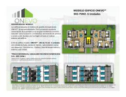 MODELO EDIFICIO ONEVO™ 3H2-‐75M2