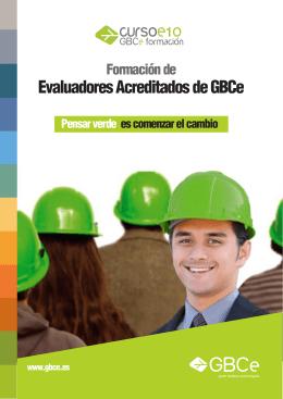Evaluadores Acreditados de GBCe
