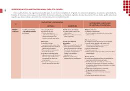Planificaciones modélicas 5to