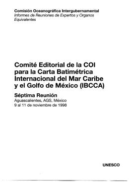 Comité Editorial de la COI para la Carta - unesdoc