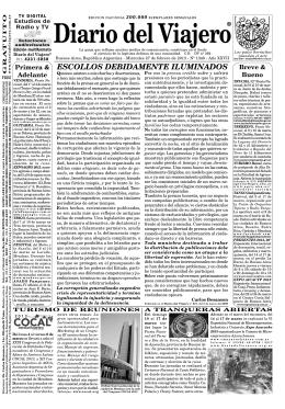 Diario del Viajero Edición número 1348