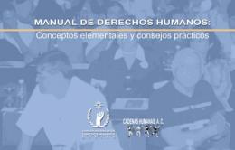 Manual de derechos humanos conceptos