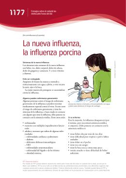 La nueva influenza, la influenza porcina