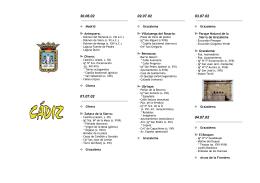 folleto turístico