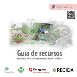 Guía de recursos: Agricultura urbana, Huertos urbanos
