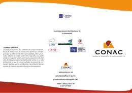 ¿Quiénes evalúan ? www.conac-ac.mx presidenciadeconac@gmail